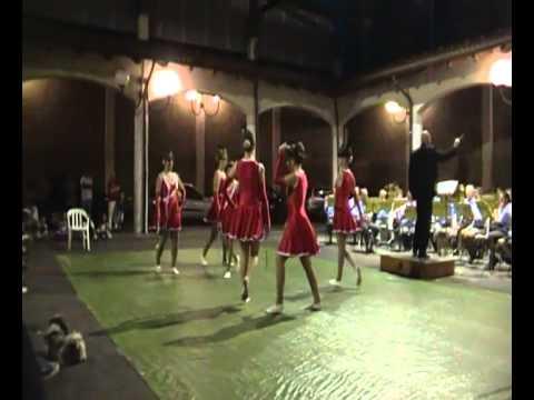 Majorettes Red Angels Giaveno feat. Banda Giaveno e Valsangone -   Marcia dei cuscrit
