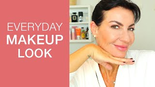 5 MINUTE FRENCH MAKEUP LOOK I Everyday Makeup Look