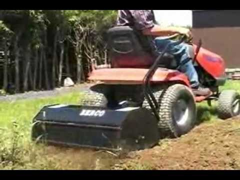 Bercomac Lawn And Garden Tractor Rototiller 700312