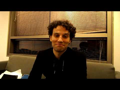 CultureBuzz Converses with David Greilsammer - A Pianist-Conductor making a universal BUZZ!