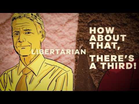 Best ads for the Gary Johnson - Bill Weld Libertarian ticket for President 2016