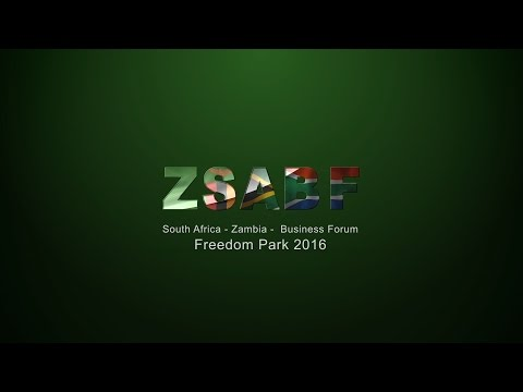 Zambia  South Africa Business Forum Highlight 2016