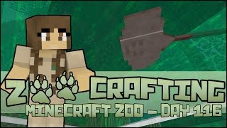 Zoo Crafting! Freshwater Ray Exhibit!! - Episode #116 | Season 2
