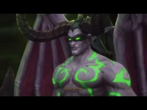 World of Warcraft: Legion - both Demon Hunter class cutscenes - 1080p