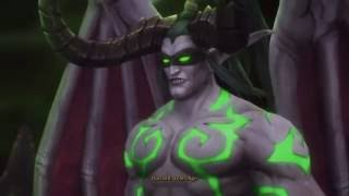 World of Warcraft: Legion - both Demon Hunter class cutscenes - 1080p