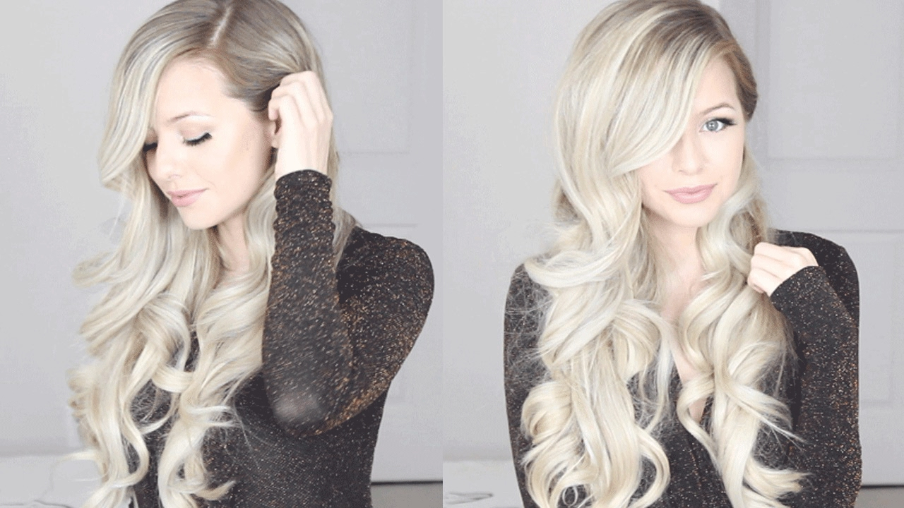 HOW TO: Romantic Hairstyle, Old Hollywood Inspired Curls - YouTube
