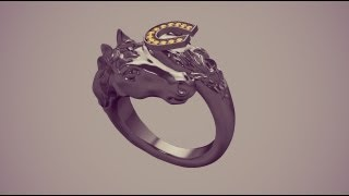 Speed Modeling Horses Ring Part1