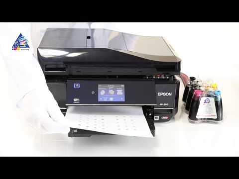 Как откалибровать принтер epson