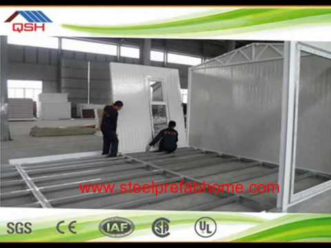 Top Build Safe and easy assemble, fast installed solar prefabricated houses with grid power system
