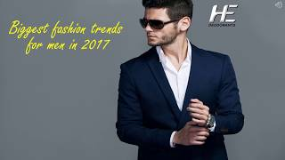 Fashion trends for men 2018