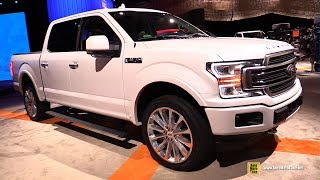 2019 Ford F150 Limited - Exterior and Interior Walkaround - Detroit Auto Show 2019