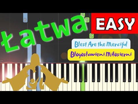 🎹 Błogosławieni miłosierni (ŚDM, Blest Are the Merciful) - Piano Tutorial (łatwa wersja) (EASY) 🎹