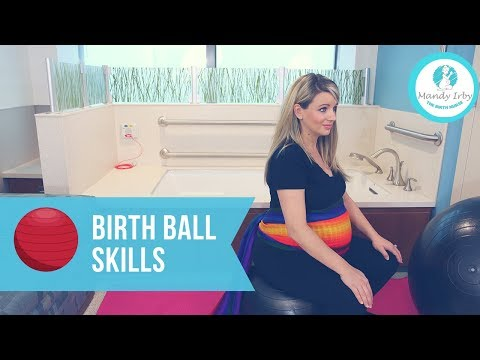 How to Have a Faster Labor with a BIRTH BALL | Natural Labor and Induction