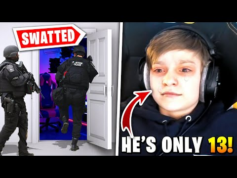 5 Youngest Fortnite Streamers Swatted Live On Stream!
