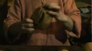 Кожаный мяч ремесла