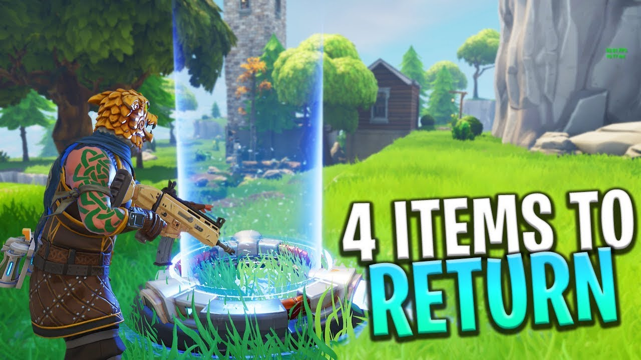New 4 Vaulted Items Weapons To Return In Future Update Fortnite