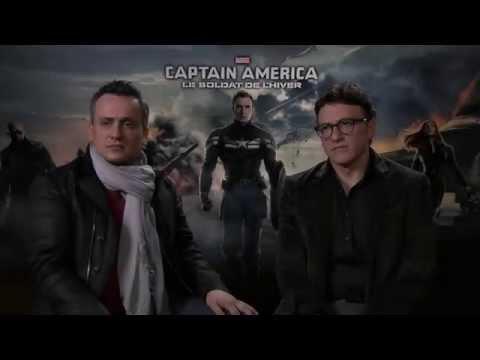 Captain America : Les frères Russo fans de cinéma français