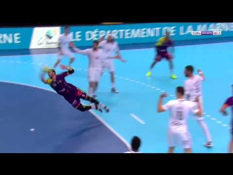 2 great goals by 2 nikos Karabatic & Tournat - Finale L  - PSG Hand - NANTES
