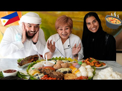 Arabs Try Filipino Food!
