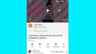 Jaclyn Hill Refunds Everyone for Her Lipsticks...Finally!