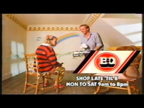 Old B&Q TV advert!