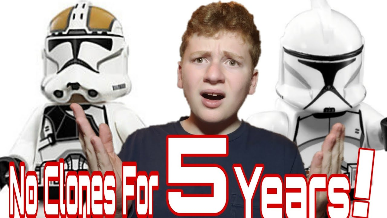 Why Have We Only Gotten 5 Lego Clone Troopers for The Last 5 YEARS 😡! Lego Star Wars RANT