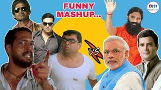 Bollywood Vs Politics Funny Mashup - Alam Mashup