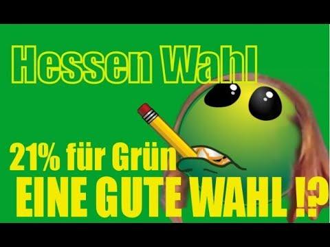Hessen Wahl : 21% für Grün trotz Skandal & fehlender Inhalte ???