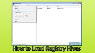 How to Load Registry Hives