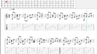 [Tab] Bên đời hiu quạnh | guitar solo