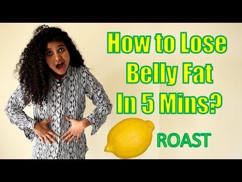 How To Lose Belly Fat In 5 Mins? (Lemon Roast)