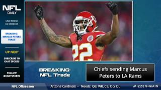 BREAKING NFL Rumors: Chiefs Agree to Trade CB Marcus Peters to Rams