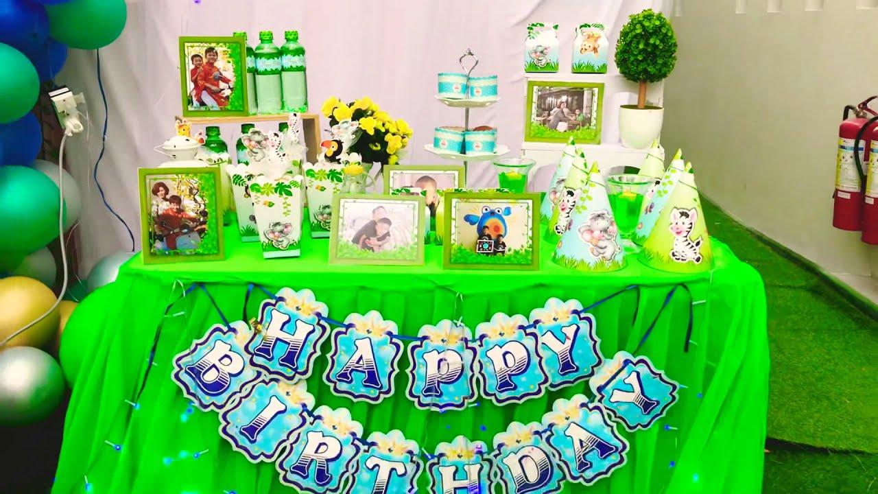 Tự trang trí sinh nhật cho bé | iparty.vn