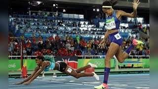 Olympics | Shaunae Miller Dives Over Finish Line to Win Gold(, 2016-08-16T21:50:36.000Z)