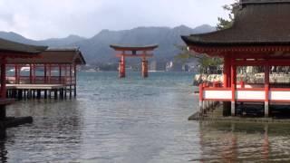 歴史の宮島・厳島神社