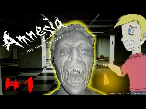 WEEPING ANGELS? - Amnesia Custom Story: Hell Awakening Prologue: The Dorm - Part 1