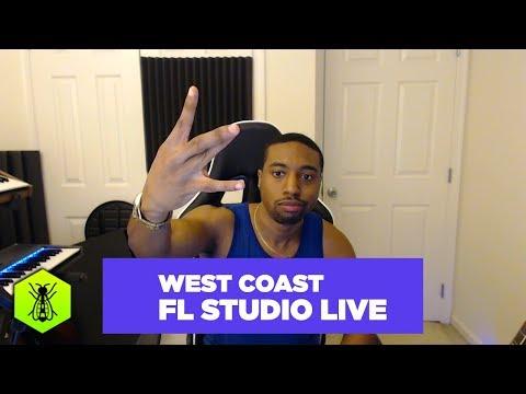 How to Make West Coast Beats LIVE