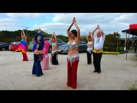 Tony King East FM Belly Dancer extraordinaire!