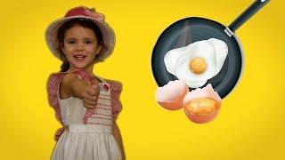 Ферма - курочка несет яйца - готовим завтрак - рецепты для детей 5 лет