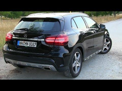 2018 Mercedes GLA 180 (122 HP) TEST DRIVE