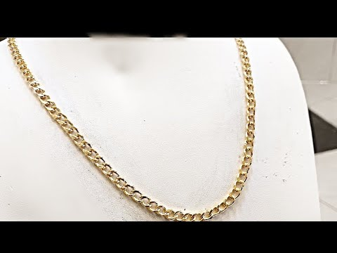 Making a Gold Curb Chain | Handmade Jewelry | Solid Curb Chain Making