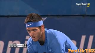 Sam Querrey vs Juan Martin del Potro Highlights  Delray Beach Open 2016