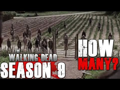 The Walking Dead Season 9 Episode 11 - How Many Whisperers are There?
