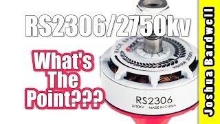 EMax RS2306 White Edition 2750kv | With Ryan Harrell | WHAT IS THE POINT OF THIS MOTOR?