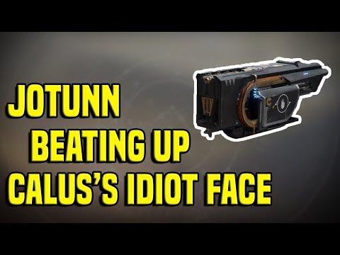 Jotunn Exotic Fusion vs. Calus - Leviathan Raid | Destiny 2 thumbnail