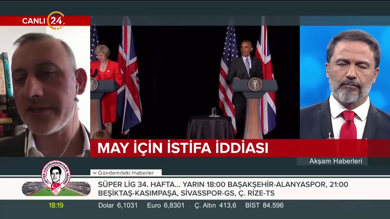 Başbakan May istifa edecek iddiasını Tayfun Salcı değerlendiriyor
