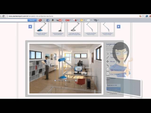 Tutorial Simulador de Ambientes Startec