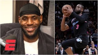 LeBron James rates his dagger against Dwyane Wade's buzzer-beater   NBA Sound