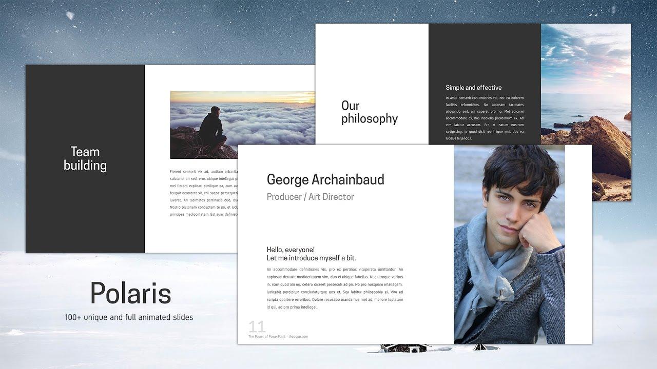 Polaris free powerpoint template youtube toneelgroepblik Gallery