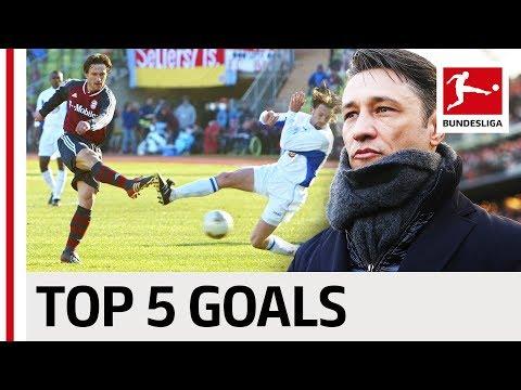 FC Bayern's New Coach - Niko Kovac - Top 5 Goals